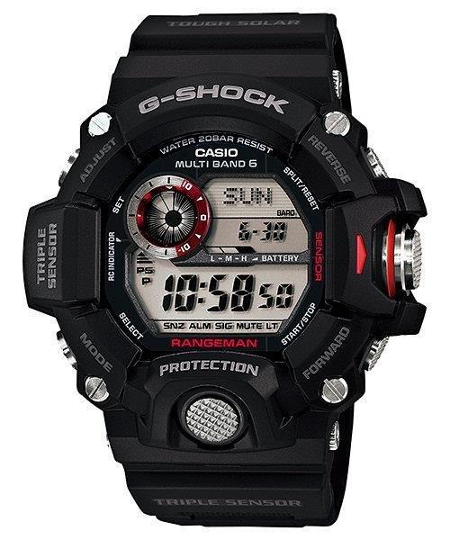 67294592660341 Zegarek Casio GW-9400-1ER G-Shock Rangeman - sklep ZegaryZegarki.pl