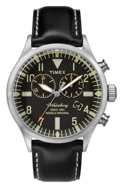 70940b0f632b Zegarek Timex TW2P64900 Waterbury Collection Chrono - sklep ...