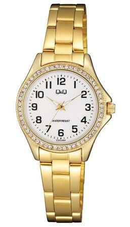 Biżuteryjny zegarek damski Q&Q C223-004
