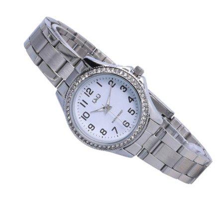 Biżuteryjny zegarek damski Q&Q C223-204