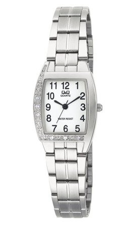 Biżuteryjny zegarek damski Q&Q Q693-204