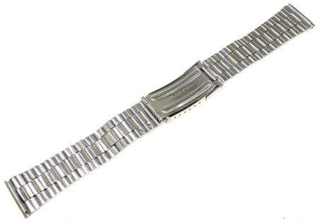 Bransoleta stalowa bicolor do zegarka 20 mm JVD KT 045-20