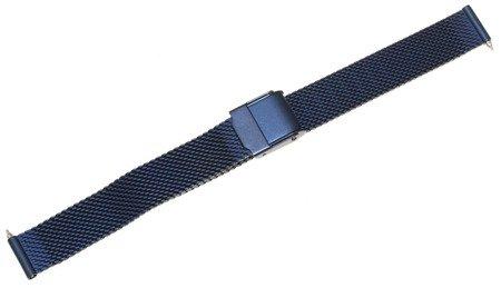 Bransoleta stalowa do zegarka 12 mm Bisset BM-101.12 BLUE