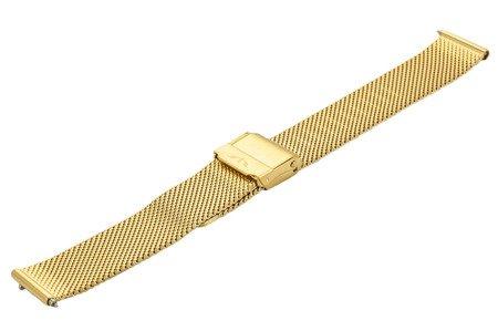 Bransoleta stalowa do zegarka 12 mm Bisset BM-101.12 Gold