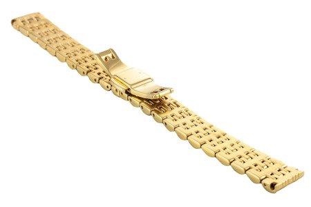 Bransoleta stalowa do zegarka 14 mm BR-116/14 GOLD