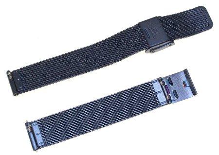 Bransoleta stalowa do zegarka 14 mm Bisset BM-101/14 Blue