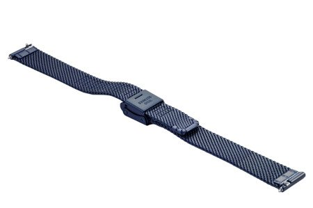 Bransoleta stalowa do zegarka 14 mm Bisset BM-104/14 Blue