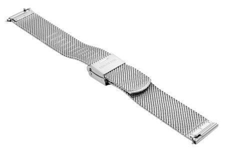 Bransoleta stalowa do zegarka 16 mm Bisset BM-105/16 Silver
