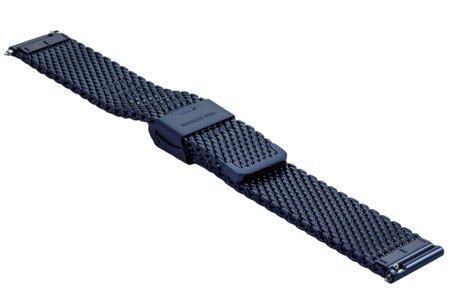 Bransoleta stalowa do zegarka 18 mm Bisset BM-102/18 Blue