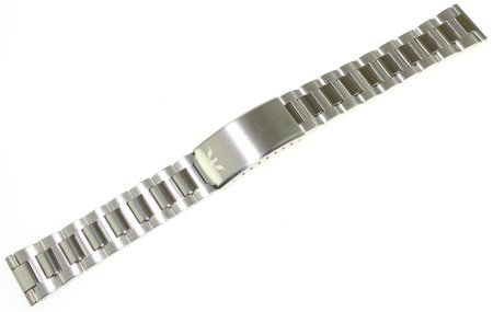 Bransoleta stalowa do zegarka 18 mm Bisset BR18.01 Silver