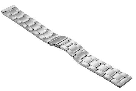 Bransoleta stalowa do zegarka 20 mm BR-119/20 Silver