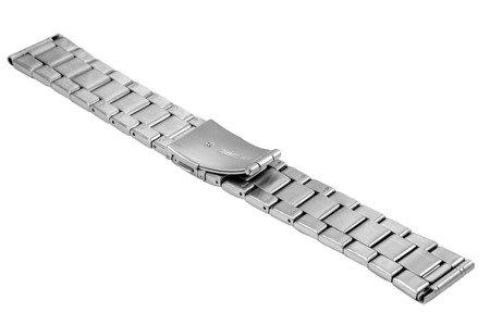 Bransoleta stalowa do zegarka 22 mm BR-125/22 Silver