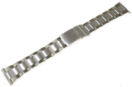 Bransoleta stalowa do zegarka 22 mm JVD KT 164-22