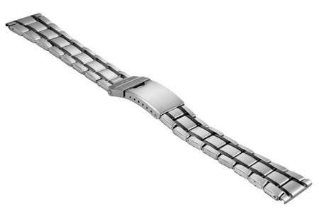 Bransoleta stalowa do zegarka 24 mm BR-122/24 TT Black