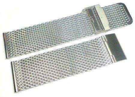 Bransoleta stalowa do zegarka 24 mm Tekla TB24.001.08 Mesh