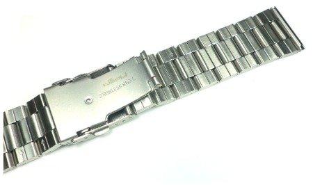Bransoleta stalowa do zegarka Diloy 3018-24-0 24 mm