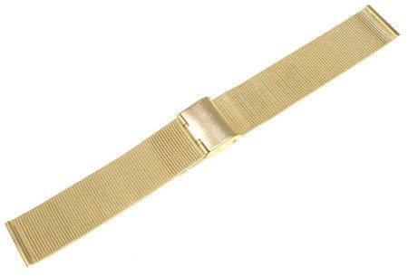 Bransoleta stalowa do zegarka Diloy MESH05-20-G 20 mm