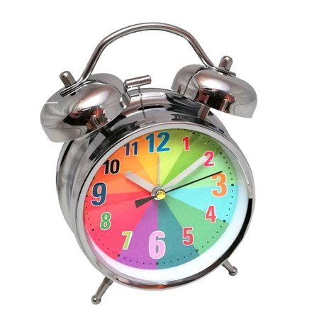 Budzik Atrix ATB045D Bell Alarm Retro