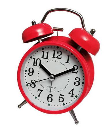 Budzik Atrix ATB045R Bell Alarm Retro