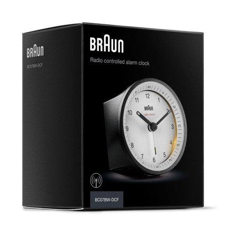 Budzik Braun BC07BW-RC