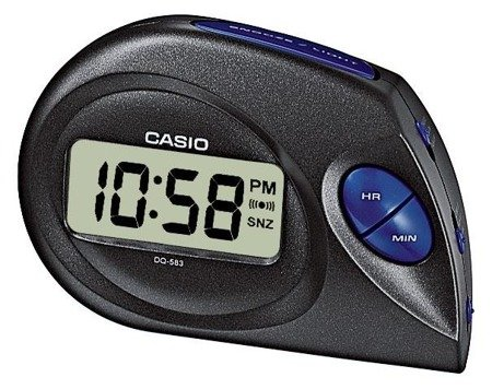 Budzik Casio BDQ-583-1EF Podświetlenie
