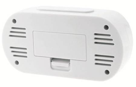 Budzik JVD RB13 Pięć alarmów, termometr, DCF77