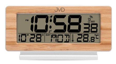Budzik JVD RB3523.3 Termometr DCF77