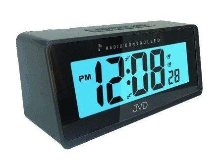 Budzik JVD RB42.1 Dwa alarmy, DCF77