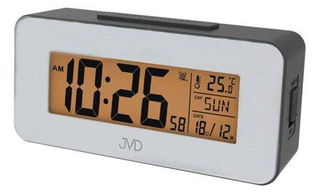 Budzik JVD RB9334.2 Termometr DCF77 Dni Tygodnia PL