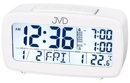 Budzik JVD SB82.1 Alarmy Termometr Sensor Light