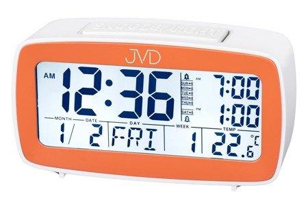 Budzik JVD SB82.3 Alarmy Termometr Sensor Light