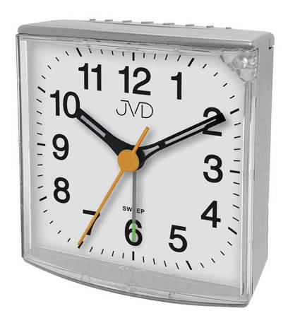Budzik JVD SRP002.3 z płynącym sekundnikiem