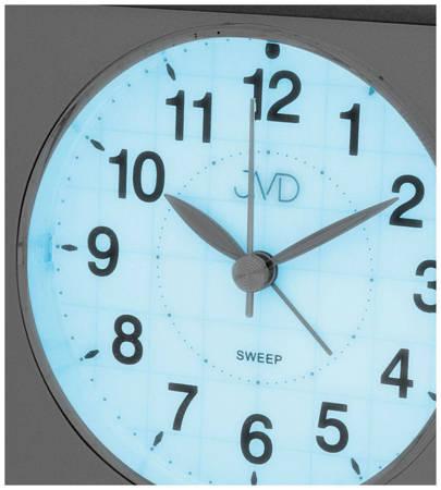 Budzik JVD SRP707.2 z płynącym sekundnikiem
