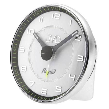 Budzik JVD SRPC08.1 z płynącym sekundnikiem