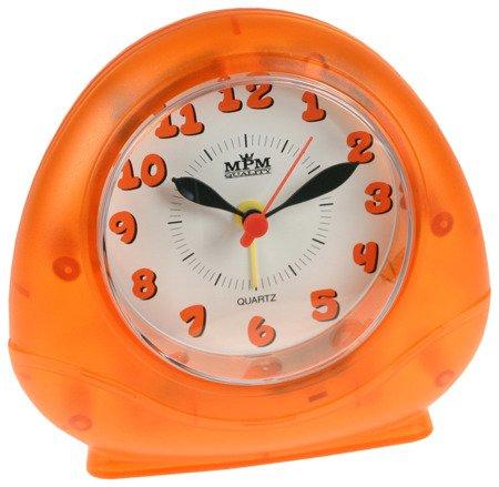 Budzik MPM C01.2564.60 pomarańczowy dziecięcy