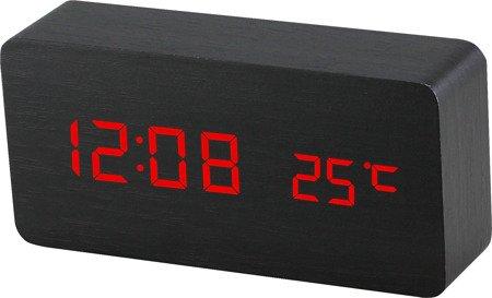 Budzik MPM C02.3564.90 termometr, 3 alarmy
