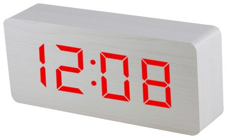 Budzik Xonix GHY-015YK WH RED termometr, 3 alarmy