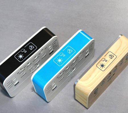 Budzik akumulatorowy MPM C02.4003.30 melodie