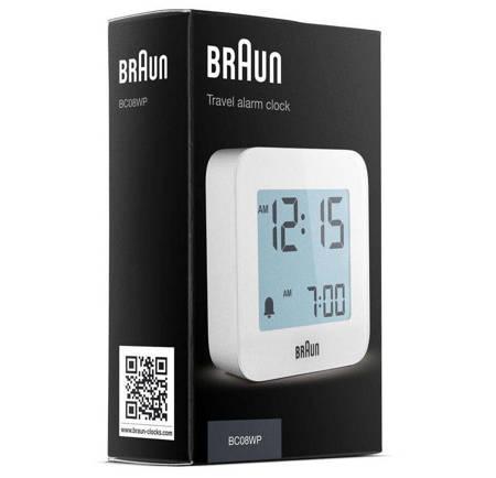Budzik elektroniczny Braun BC08W