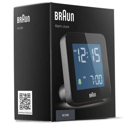 Budzik elektroniczny Braun BC09B