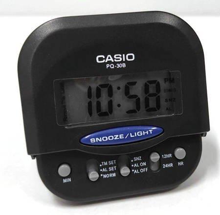 Budzik elektroniczny Casio PQ-30B-1EF