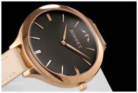Damski klasyczny zegarek BISSET BSAE20RIVX 03BX Długi pasek