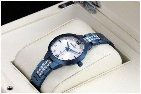 Damski klasyczny zegarek Bisset Slim NOA BSBE77 VMSX 03BX