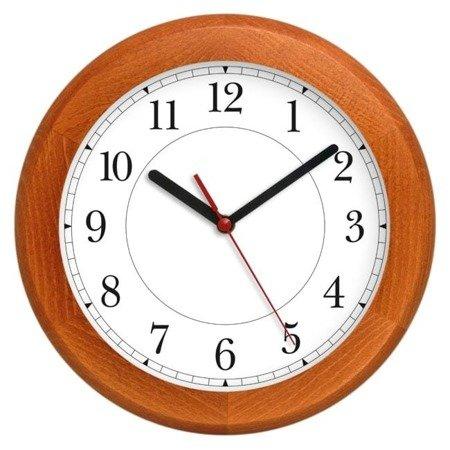 Drewniany zegar ścienny Atrix ATW301A CLV 30 cm