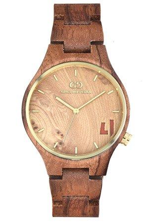 Drewniany zegarek damski Giacomo Design GD08404