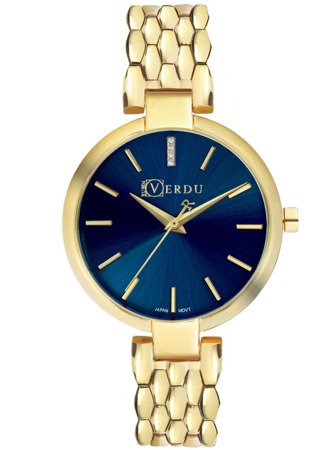 Klasyczny zegarek damski Ruben Verdu RV2203 Cyrkonie