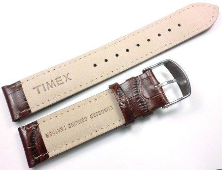 Pasek do zegarka Timex T2N942 P2N942 20 mm Skóra