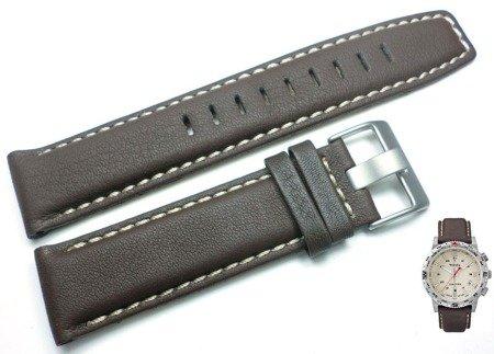 Pasek do zegarka Timex T2P287 P2P287 22 mm Skóra WR