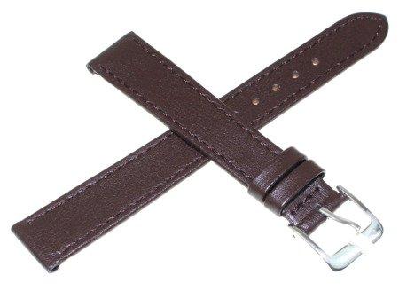 Skórzany pasek do zegarka 16 mm JVD R18202-16