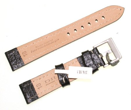 Skórzany pasek do zegarka 18 mm Diloy 376.18.1